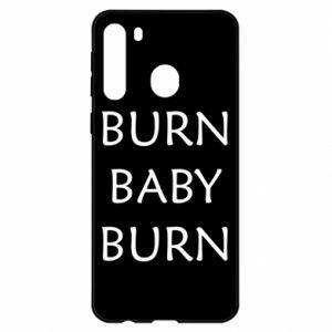 Etui na Samsung A21 Burn baby burn