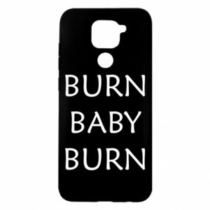 Etui na Xiaomi Redmi Note 9/Redmi 10X Burn baby burn