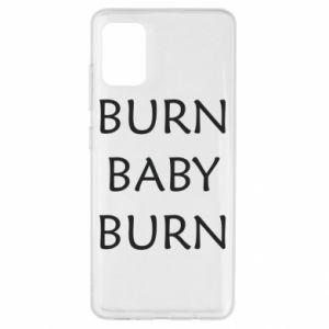 Etui na Samsung A51 Burn baby burn