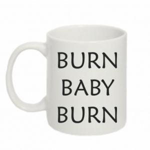 Kubek 330ml Burn baby burn