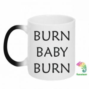 Kubek-kameleon Burn baby burn