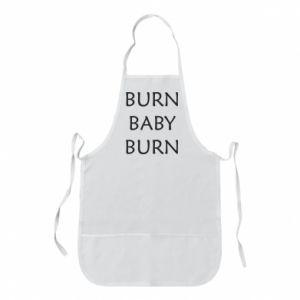 Fartuch Burn baby burn