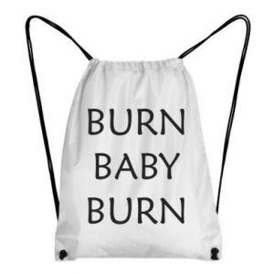 Plecak-worek Burn baby burn