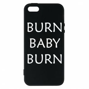 Etui na iPhone 5/5S/SE Burn baby burn