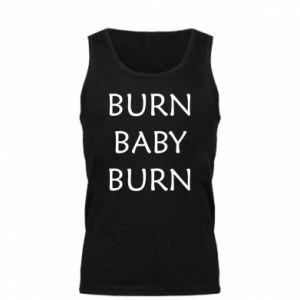 Męska koszulka Burn baby burn