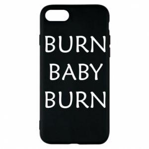 Etui na iPhone 8 Burn baby burn