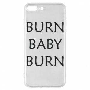 Etui na iPhone 8 Plus Burn baby burn