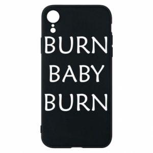 Etui na iPhone XR Burn baby burn