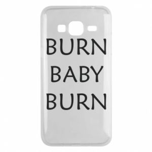 Etui na Samsung J3 2016 Burn baby burn