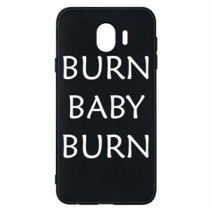 Etui na Samsung J4 Burn baby burn