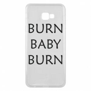Etui na Samsung J4 Plus 2018 Burn baby burn