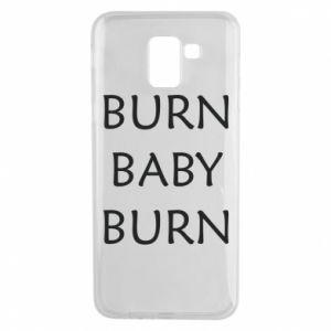 Etui na Samsung J6 Burn baby burn