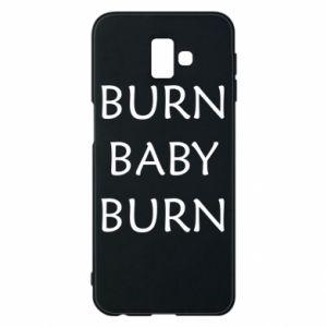 Etui na Samsung J6 Plus 2018 Burn baby burn