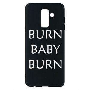 Etui na Samsung A6+ 2018 Burn baby burn