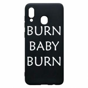 Etui na Samsung A20 Burn baby burn