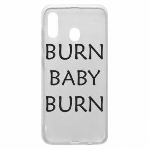 Etui na Samsung A30 Burn baby burn