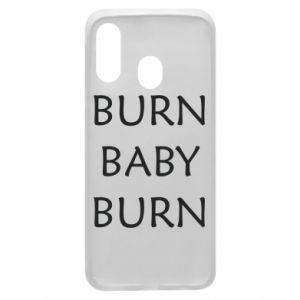 Etui na Samsung A40 Burn baby burn
