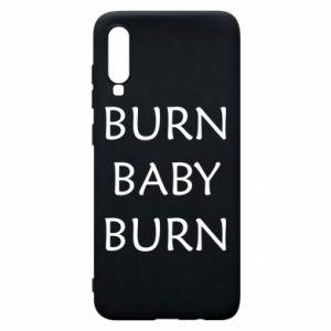 Etui na Samsung A70 Burn baby burn