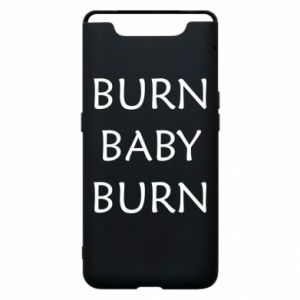Etui na Samsung A80 Burn baby burn