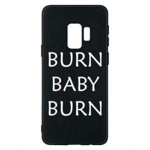 Etui na Samsung S9 Burn baby burn