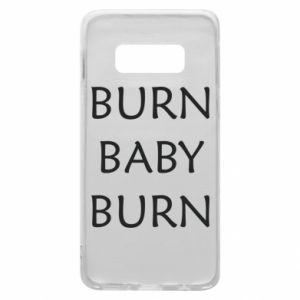 Etui na Samsung S10e Burn baby burn