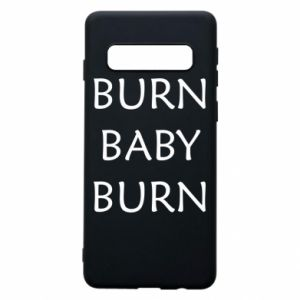 Etui na Samsung S10 Burn baby burn