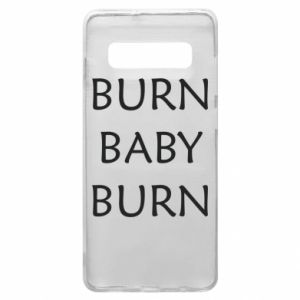 Etui na Samsung S10+ Burn baby burn