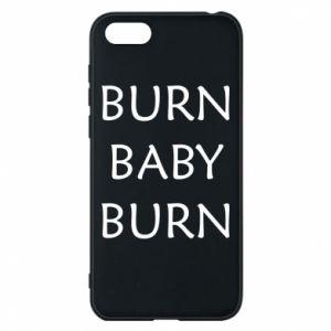 Etui na Huawei Y5 2018 Burn baby burn