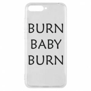 Etui na Huawei Y6 2018 Burn baby burn