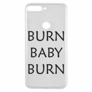 Etui na Huawei Y7 Prime 2018 Burn baby burn