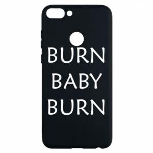 Etui na Huawei P Smart Burn baby burn