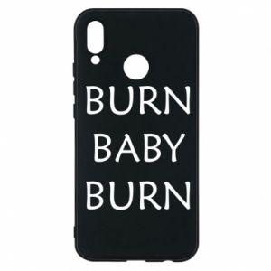 Etui na Huawei P20 Lite Burn baby burn