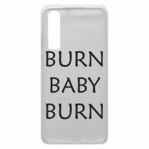 Etui na Huawei P30 Burn baby burn