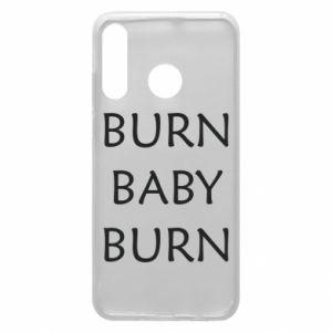 Etui na Huawei P30 Lite Burn baby burn