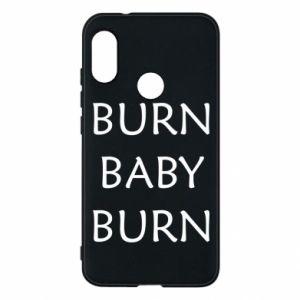 Etui na Mi A2 Lite Burn baby burn