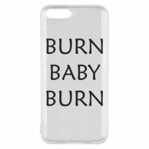 Etui na Xiaomi Mi6 Burn baby burn