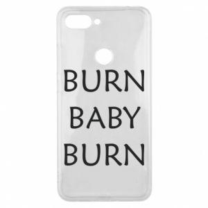 Etui na Xiaomi Mi8 Lite Burn baby burn