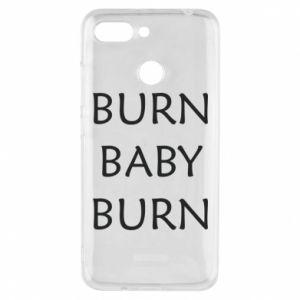 Etui na Xiaomi Redmi 6 Burn baby burn
