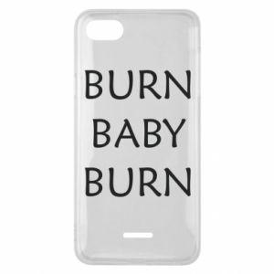 Etui na Xiaomi Redmi 6A Burn baby burn