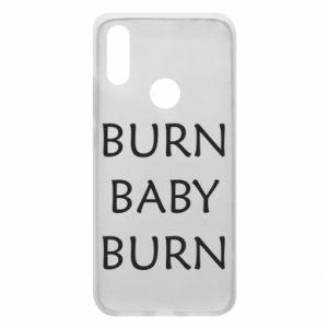 Etui na Xiaomi Redmi 7 Burn baby burn
