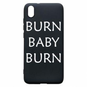 Etui na Xiaomi Redmi 7A Burn baby burn