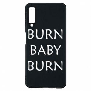 Etui na Samsung A7 2018 Burn baby burn