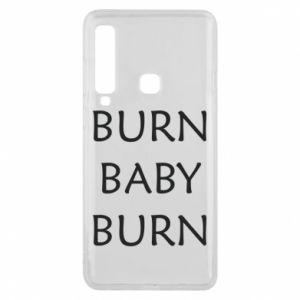 Etui na Samsung A9 2018 Burn baby burn