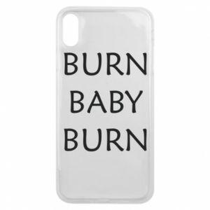 Etui na iPhone Xs Max Burn baby burn