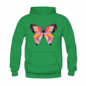 Bluza z kapturem dziecięca Butterfly graphics
