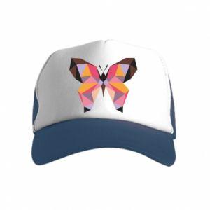 Czapka trucker dziecięca Butterfly graphics