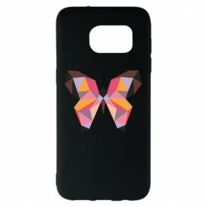 Etui na Samsung S7 EDGE Butterfly graphics