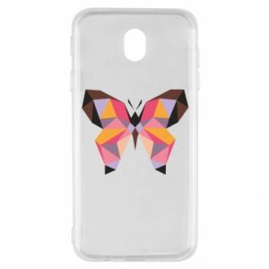 Etui na Samsung J7 2017 Butterfly graphics