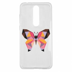 Etui na Nokia 5.1 Plus Butterfly graphics