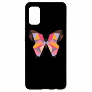 Etui na Samsung A41 Butterfly graphics